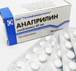 Анаприлин. Описание и инструкция препарата