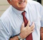 боль и жжение в груди - признаки стенокардии